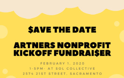 ARTners Kickoff Fundraiser Event!!! Save the Date – February 1, 2020