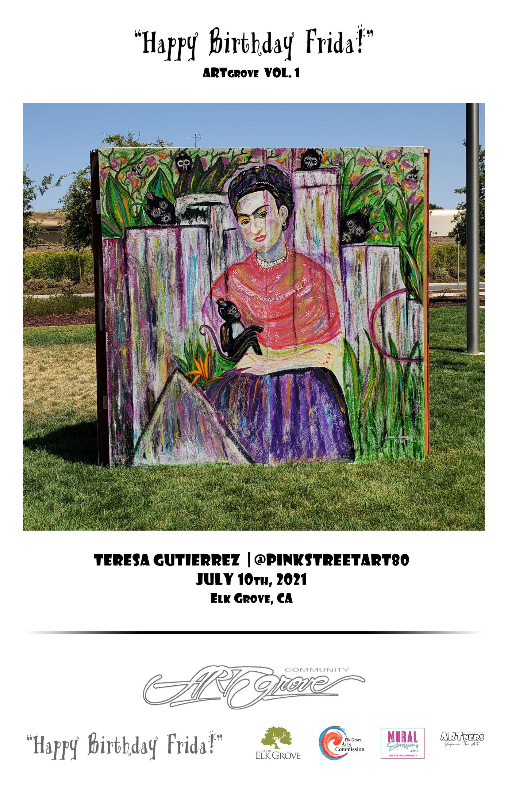 PinkStreet Art - Teresa Gutierrez
